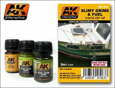 Slimy Grime and Fuel Set AK Interactive AK-063
