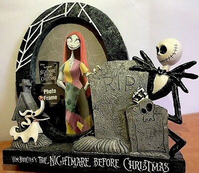 The Nightmare Before Christmas Jack Photo Frame Picture Resin 3D Figure Disney