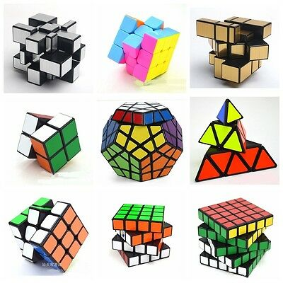 Pro ABS Ultra-smooth Speed Twist Puzzles Brain Teasers Game Magic Cube Toys