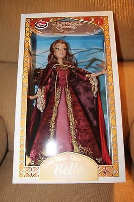 """2016 Disney Store Exclusive LIMITED EDITION BELLE 17"""" DOLL LE5000 Beauty & Beast"""