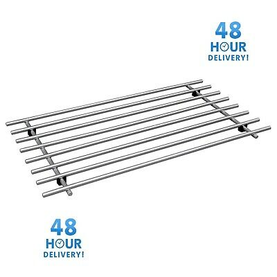 Ikea Lamplig Stainless Steel Kitchen Trivet Worktop Pan Pot Stand Large 50 x 28