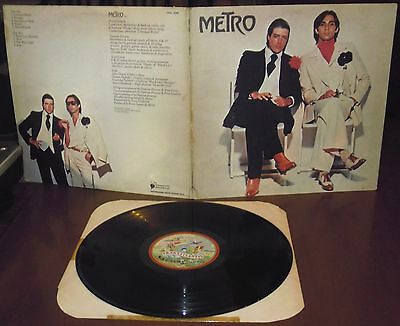 LP METRO s/t (Transatlantic 76 ITALY) 1st ps glam new wave Godwin Browne EX!