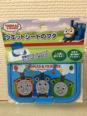 Thomas the Tank Engine Train Wet Wipe Lid Baby Blue Usable repeatedly Japan
