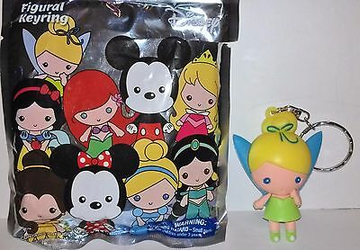 """NEW"" Disney ~ TINKERBELL Keychain ~ Blind Bag FIGURAL Keyring Series 1 Tink"