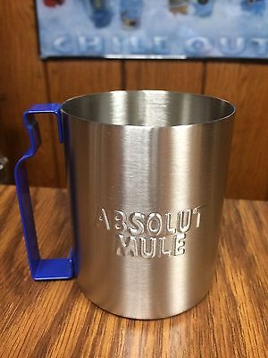 Rare Absolut Vodka Metal Absolut Mule Cup -Great For Display -No Vancouver La