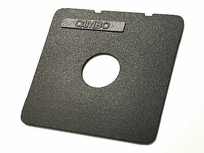 Cambo Ultima SF-630 Flat Lensboard for #0 Shutter VERY NICE COSMETIC CONDITION