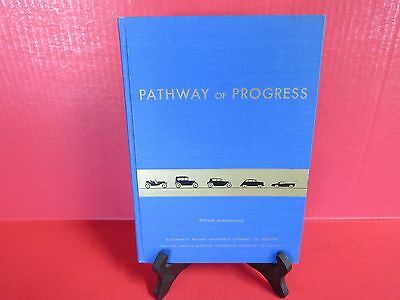 """PATHWAY TO PROGRESS 50th Anniversary 1907 - 1957 """"Amica Ins. Co."""" Book - Immacu!"""