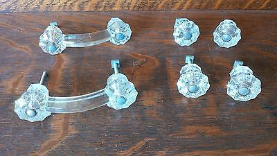Revised with FREE SHIPPING! Antique Glass Drawer Pulls and Knobs