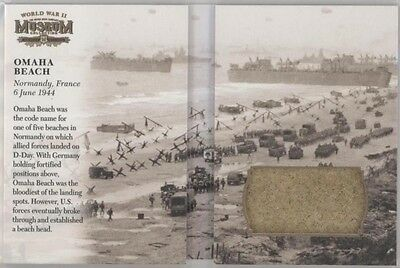 2016 Goodwin Champions Omaha Beach June 6 1944 Normandy Booklet Used Sand