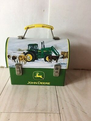 John Deere Mini Lunchbox -TIN