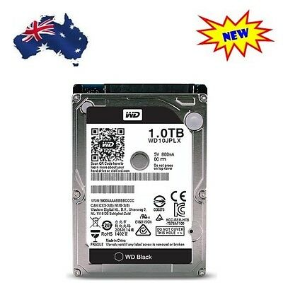 """WD Black WD10JPLX 2.5"""" 1TB 32MB 7200RPM Mobile HDD laptop notebook HP Toshiba"""