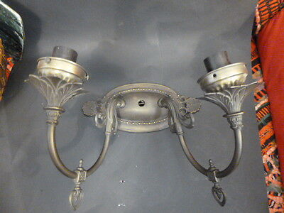 Antique Double Light Wall Sconce Fixture