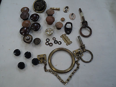 Lot of Vintage and Antique Hardware