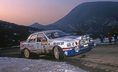 FORD SIERRA COSWORTH n° 3 MOBIL1 MONTE CARLO 1992 DECAL 1/43e