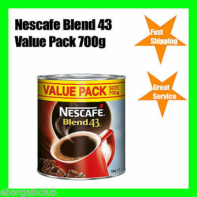 Nescafe Blend 43 Instant Coffee 700g Value Pack