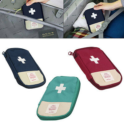 Home Office Work Travel Sports School Small First Aid kit Bags emergency Pouch