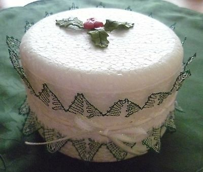 Christmas Tree Cake Frill Torchon Bobbin Lace Pattern Lacemaking *PATTERN ONLY*