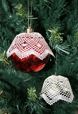 Christmas Bauble Torchon Bobbin Lace Pattern Lacemaking *PATTERN ONLY*