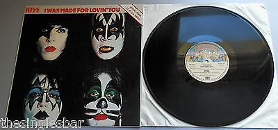 """Kiss - I Was Made For Lovin' You UK 1979 Casablanca Remix 12"""" Single"""