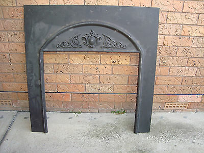 FIREPLACE METAL/ALLOY FASCIA/SURROUND 96CM X 98CM, PICK UP 2766 Rooty Hill nsw