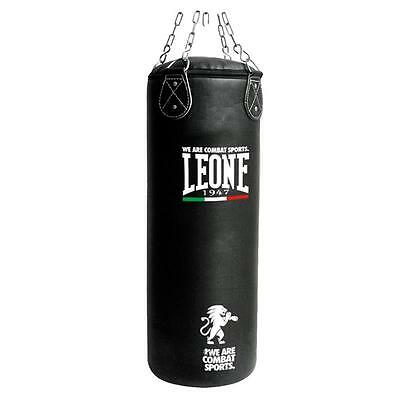 LEONE SACCO ALLENAMENTO BOXE KICK BOXING MMA 20Kg NERO BASIC AT840