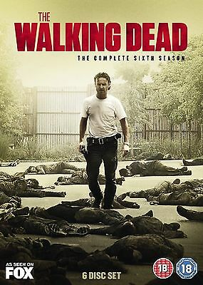 The Walking Dead Complete Season 6 DVD UK Region 2 Brand New and Sealed
