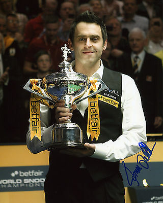 Ronnie O'Sullivan - World Champion Snooker Player - Signed Autograph REPRINT