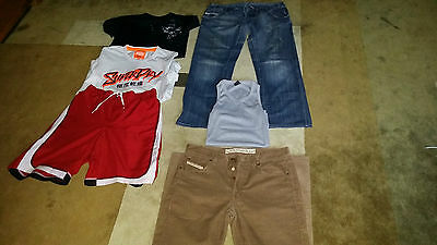 diesel, superdry, nike, mens branded clothing lot