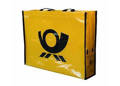 R-PET Post Bag Deutsche Post recycelt Henkel Tasche RPET 35 x 12 x 45 cm NEU