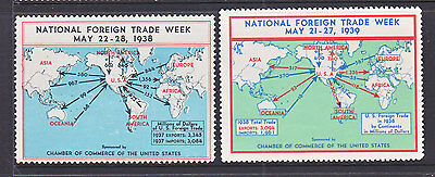 Cinderella: Usa 1938-9 National Foreign Trade Week.