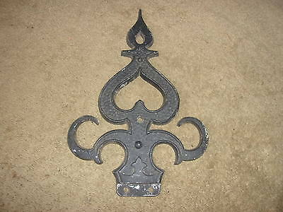 Vgt Metal Fence Finial Topper Architectural Decor Steam Rat Hot Rod Repurpose