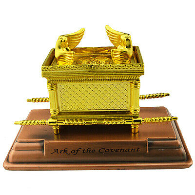 Ark of the Covenant Jerusalem Holy Land Israel Souvenir Gold Replica Mini 4.5""