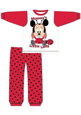 baby girls minnie mouse pyjamas(mummys little lady)