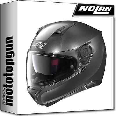 motorradhelm nolan n87 plus n com black graphite xl wie. Black Bedroom Furniture Sets. Home Design Ideas
