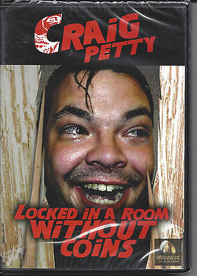 Locked in a Room Without Coins by Craig Petty - Magic DVD