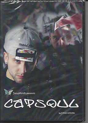CAPSOUL - Magic DVD by D'Puck M'Shira - Still Wrapped - Free Shipping