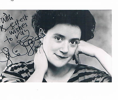 Sophie Thompson British Actress Harry Potter Hand Signed Photo and Card 6 x 4