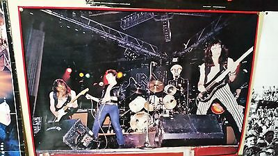 Iron Maiden Poster W/ Paul Dianno Very Rare