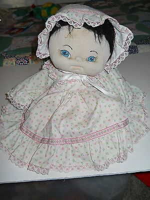 Soft Sculpture Doll Dressed, Pouting Pouty Face Home-Made Outfit Music Plays J&J