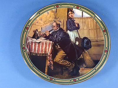 "Norman Rockwell's ""The Musician's Magic"" Collectors Plate MIB"
