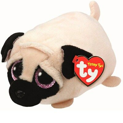 "Teeny Tys Candy the Pug 4"" Plush"