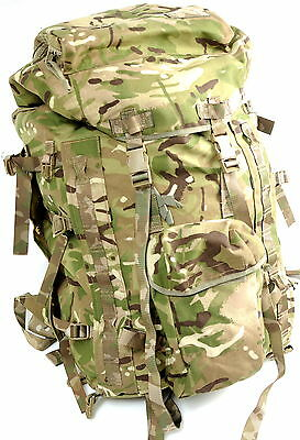 British Army Issue MTP Camo Multicam Short Back Bergen