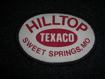 Hilltop TEXACO Sweet Springs,Mo Patch 1980's