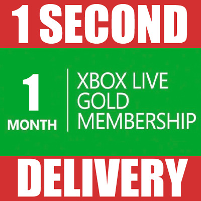 1 Month Xbox Live Gold Membership (2x 14 Day) Microsoft Xbox One / 360 - INSTANT