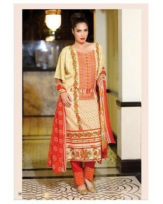 Libas Embroidered Collection 2016 Unstitched Shalwar Kameez