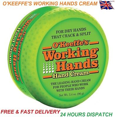 O'Keeffe's Working Hands Cream For Dry Split & Cracked Skin Hands Gorilla Glue