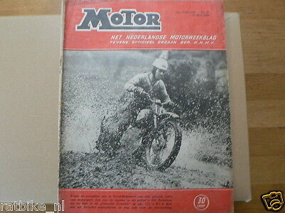 Mo5029-Bill Nicholson 125 Bsa,Cz Add,Tt Assen After,Bmw R25 Test,Egmond Cross,