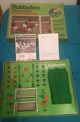 Subbuteo Table Soccer CLUB EDITION Barcelona Milan Bournemouth Scunthorpe