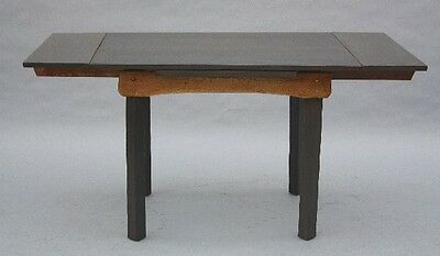 1930s Antique Rancho Monterey Period Dining Table w Expandable Leaves (9713)