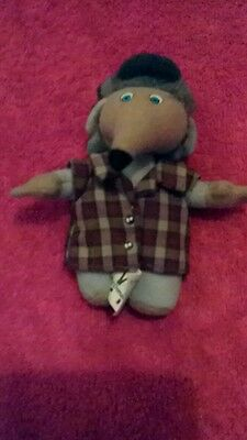 """THE WOMBLES McDonalds Happy Meal soft toy """"Bungo"""""""